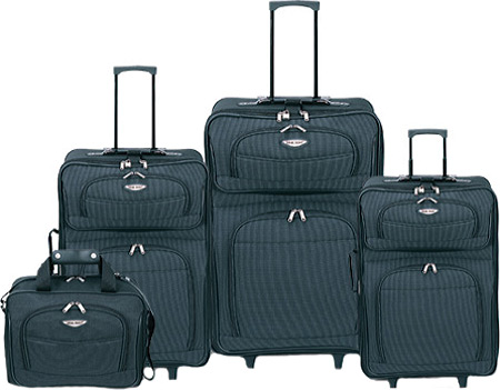 トラベラーズチョイス Travelers Choice Amsterdam TS-6950 4 Pc Travel Collection - Navy バッグ 鞄 かばん