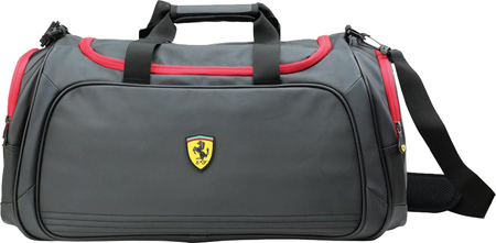 Ferrari Sport Bag - Large - Black バッグ 鞄 かばん