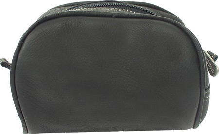 ピエルレザー Piel Leather Cosmetic Bag 2405 - Black Leather バッグ 鞄 かばん