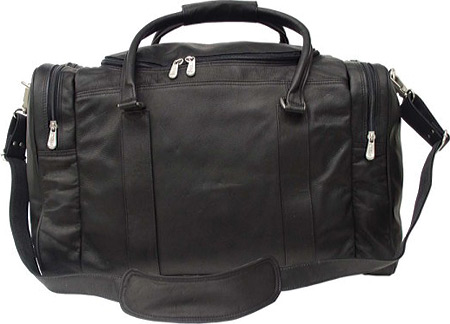 ピエルレザー Piel Leather Classic Weekend Carry On 2509 - Black Leather バッグ 鞄 かばん