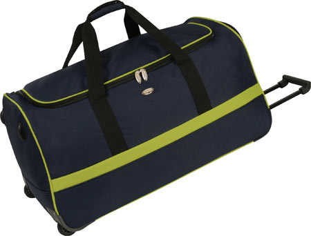 Travel Gear Spectrum II 30 Wheeled Duffle - Navy Lime バッグ 鞄 かばん
