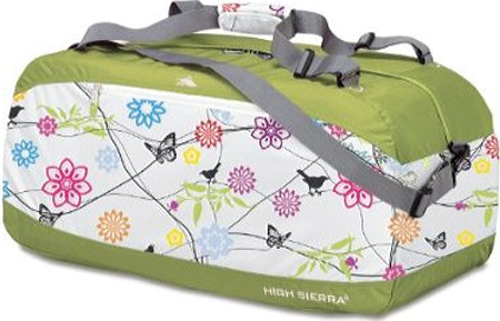 ハイシェラ High Sierra 36 Pack-N-Go Duffel - Birds on a Wire Leaf Green バッグ 鞄 かばん