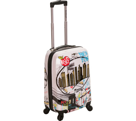 Rockland 20 Polycarbonate Carry On F206 - New York バッグ 鞄 かばん