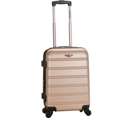 Rockland Melbourne 20 Expandable Carry On - Champagne バッグ 鞄 かばん