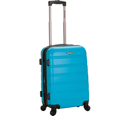 Rockland Melbourne 20 Expandable Carry On - Turquoise バッグ 鞄 かばん