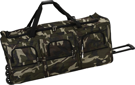 Rockland 40 Rolling Duffle - Camo バッグ 鞄 かばん