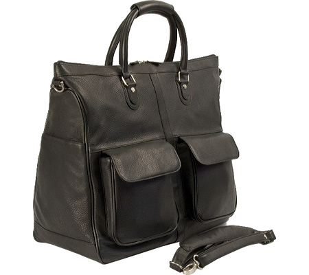 ドクターコッファー Dr. Koffer Keats Travel Bag D01201 - Black Karelia Leather バッグ 鞄 かばん