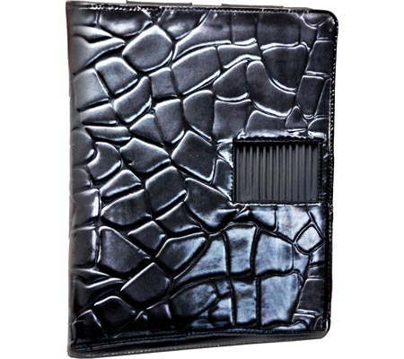Bravo iPad Holder - Black Tortoise Print バッグ 鞄 かばん