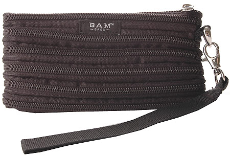 BAM BAGS The Original Zippurse Wristlet (2 units) - Black バッグ 鞄 かばん