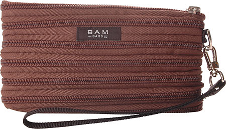 BAM BAGS The Original Zippurse Wristlet (2 units) - Walnut バッグ 鞄 かばん
