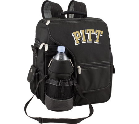 Picnic Time Turismo Pittsburgh Panthers Print - Black バッグ 鞄 かばん バックパック リュックサック
