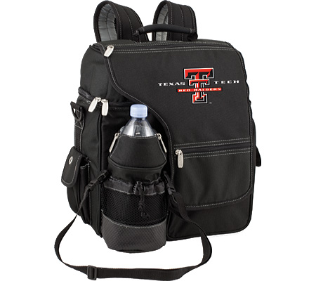 Picnic Time Turismo Texas Tech Red Rangers Embroidered - Black バッグ 鞄 かばん バックパック リュックサック
