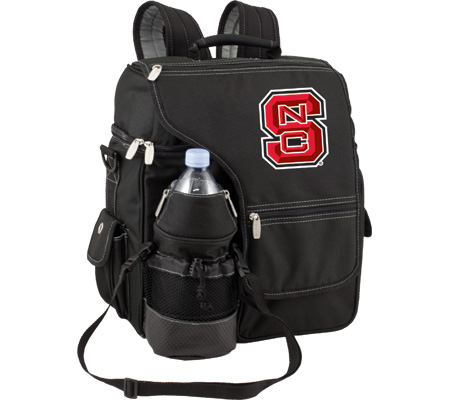 Picnic Time Turismo NC State University Wolfpack Embroidered - Black バッグ 鞄 かばん バックパック リュックサック