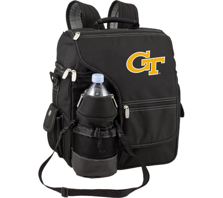Picnic Time Turismo Georgia Tech Yellow Jackets Embroidered - Black バッグ 鞄 かばん バックパック リュックサック