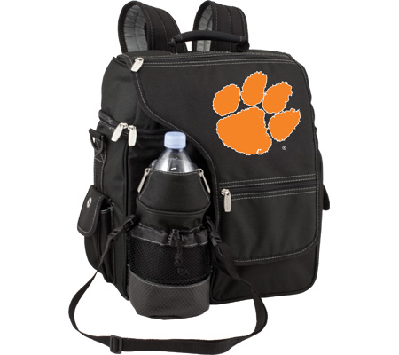 Picnic Time Turismo Clemson University Tigers Print - Black バッグ 鞄 かばん バックパック リュックサック