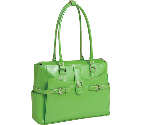 McKlein Willow Springs - Green Italian Leather バッグ 鞄 かばん