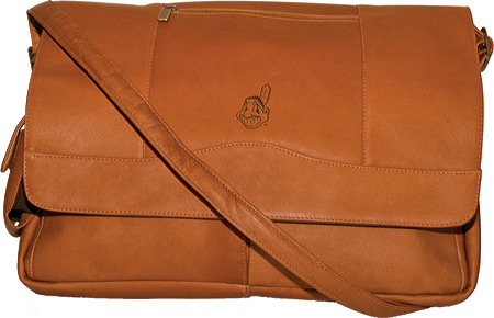 パンゲア Pangea Laptop Messenger PA 156 MLB - Cleveland Indians Tan バッグ 鞄 かばん