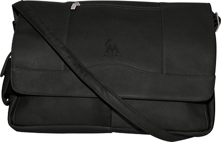 パンゲア Pangea Laptop Messenger PA 156 MLB - Miami Marlins Black バッグ 鞄 かばん