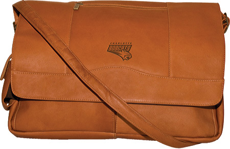 パンゲア Pangea Laptop Messenger PA 156 NBA - Charlotte Bobcats Tan バッグ 鞄 かばん