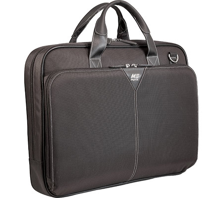 モバイルエッジ Mobile Edge Select Nylon Laptop Briefcase- 16PC 17Mac - Black バッグ 鞄 かばん