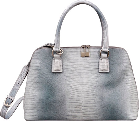 PAVA Leather Convertible Satchel GD2944 - Gray バッグ 鞄 かばん ハンドバッグ