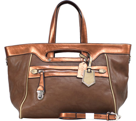 Dasein Tote Bag 2741-220448 - Coffee Brown バッグ 鞄 かばん ハンドバッグ