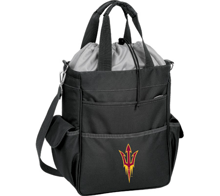 Picnic Time Activo Arizona State Sun Devils - Black バッグ 鞄 かばん ハンドバッグ