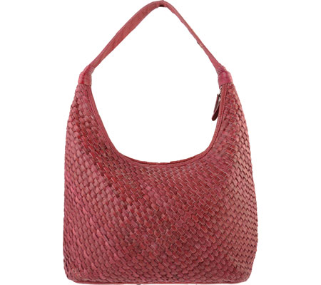R&R Leather Hobo Bag 2-206-1W - Pink バッグ 鞄 かばん ハンドバッグ