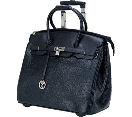 Ricardo Beverly Hills 17 Rolling Business Tote - Black バッグ 鞄 かばん