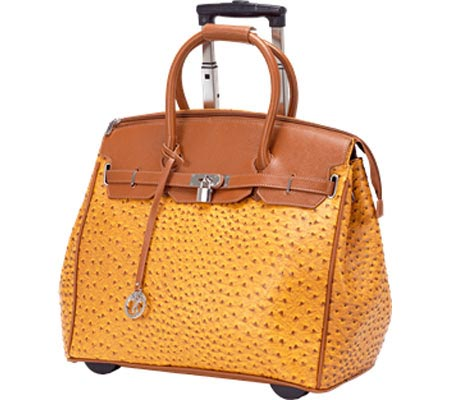 Ricardo Beverly Hills 17 Rolling Business Tote - Mustard バッグ 鞄 かばん