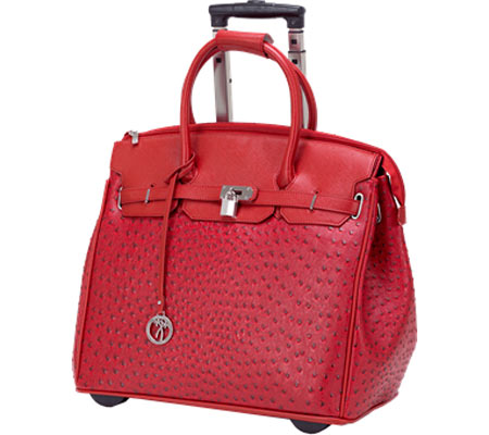Ricardo Beverly Hills 17 Rolling Business Tote - Red バッグ 鞄 かばん