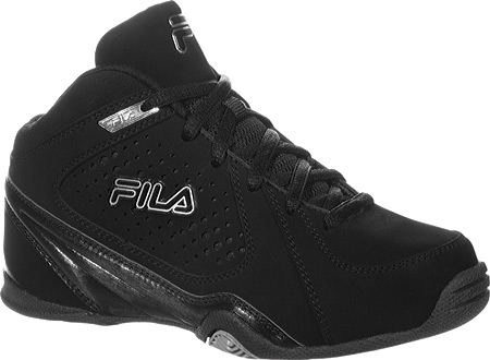 フィラ Fila Leave It On The Court 3 - Black Black Metallic Silver 子供 キッズ シューズ 靴