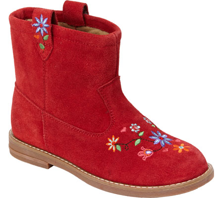 Hanna Andersson Elsa - Apple Red Suede 子供 キッズ シューズ 靴