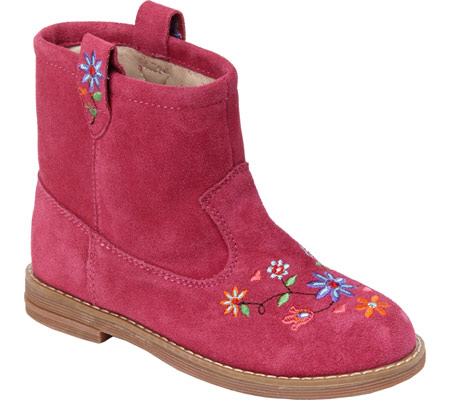 Hanna Andersson Elsa - Cerise Suede 子供 キッズ シューズ 靴