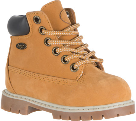 ラグズ Lugz Drifter 6 - Golden Wheat Cream Bark Gum Thermabuck 子供 キッズ シューズ 靴