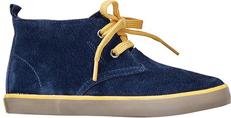 Hanna Andersson Nils - Navy Suede 子供 キッズ シューズ 靴