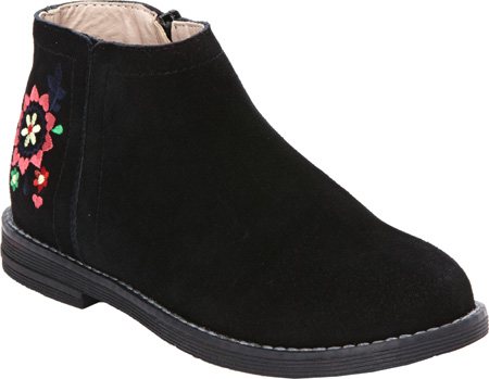 Hanna Andersson Lisa - Black Suede 子供 キッズ シューズ 靴