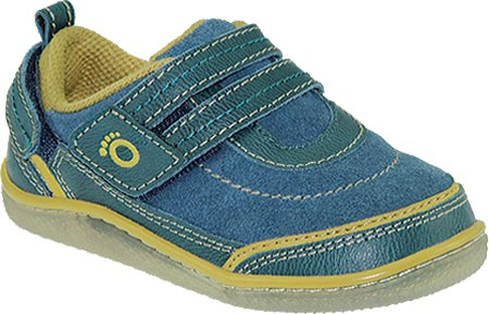KidoFit Theo - Blue Leather 子供 キッズ シューズ 靴