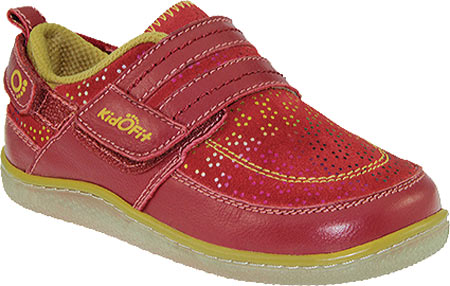 KidoFit Lily - Red Leather 子供 キッズ シューズ 靴