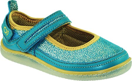 KidoFit Azure - Turquoise Leather 子供 キッズ シューズ 靴