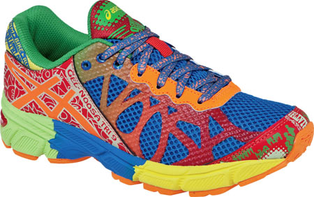 アシックス ASICS GEL-Noosa Tri 9 GS - Royal Flash Orange Flash Yellow 子供 キッズ シューズ 靴