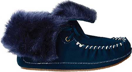 Hanna Andersson Larsson - Navy Suede 子供 キッズ シューズ 靴