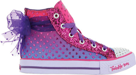 スケッチャーズ Skechers Twinkle Toes Shuffles Pixie Bunch - Purple Pink 子供 キッズ シューズ 靴
