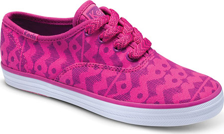 ケッズ Keds Champion CVO Prints - Purple Fuchsia Tribal Print Twill 子供 キッズ シューズ 靴