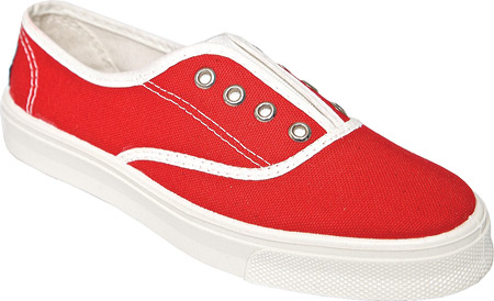 United Shoes of America Gilly - Rococo Red Off White 子供 キッズ シューズ 靴