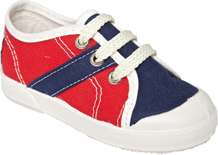 United Shoes of America Timmy - Rococo Red Patriot Navy Off White 子供 キッズ シューズ 靴
