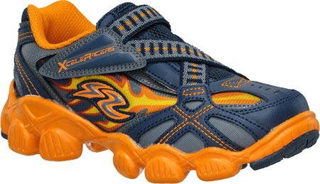 ストライドライト Stride Rite X-celeRacers X-othermal - Navy Orange Leather Polyurethane Mesh 子供 キッズ シューズ 靴