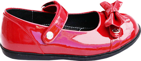 Bumbums & Baubles Lily Mary Jane - Candy Apple Patent Leather 子供 キッズ シューズ 靴
