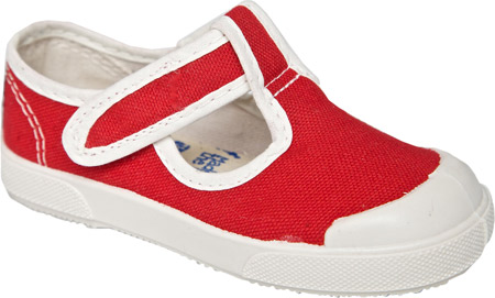 United Shoes of America Cindy - Rococo Red Off White 子供 キッズ シューズ 靴