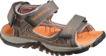 メレル Merrell Spinster Splash - Bungee Cord Orange 子供 キッズ シューズ 靴